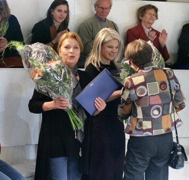 Theaterpreis 2013 für Barbara Trommer und Cordelia Wege © Therese Stuber