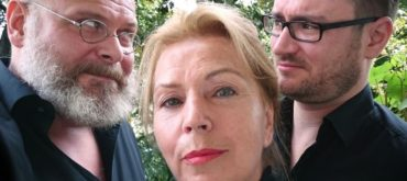Barbara Trommer mit Martin Reik und Enrico Wirth © Academixer