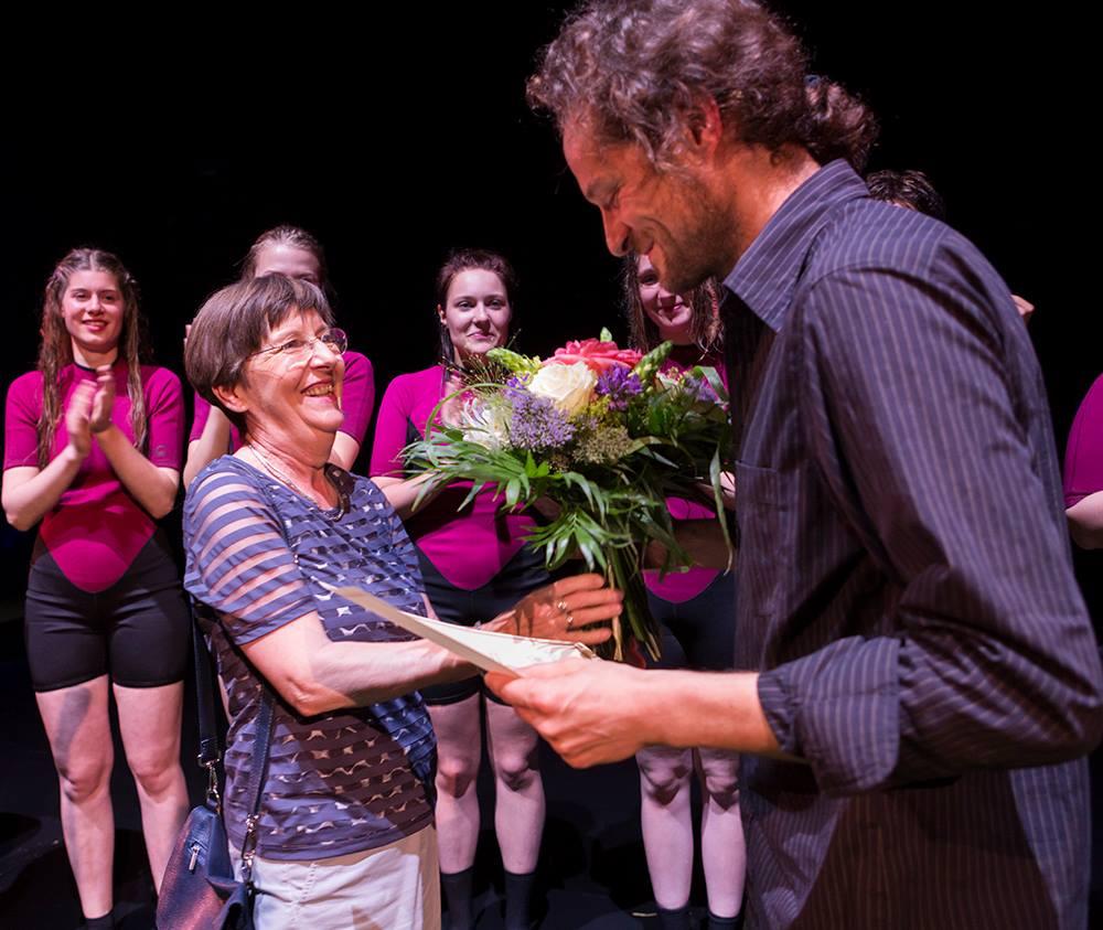 Theaterpreisverleihung an Yves Hinrichs© Rolf Arnold