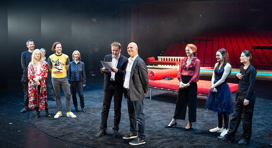 Theaterpreisverleihung Andreas Keller © Rolf Arnold